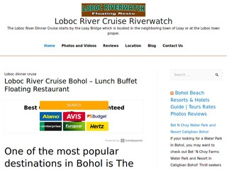 Loboc River Cruise Bohol - Lunch Buffet Floating Restaurant