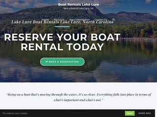 Lake Lure Boat Rentals